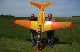 Kit FOUGA MAGISTER 1/3 MICHEL DAMSTER - RC Jet model - Aviation Design